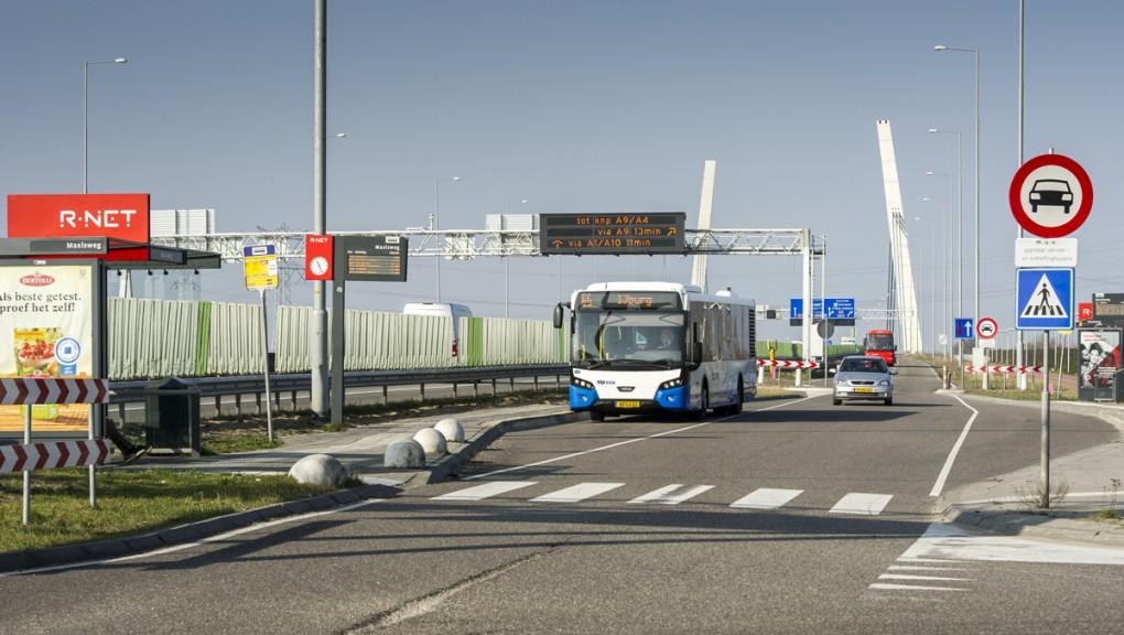 Aanleg vrije busbaan
