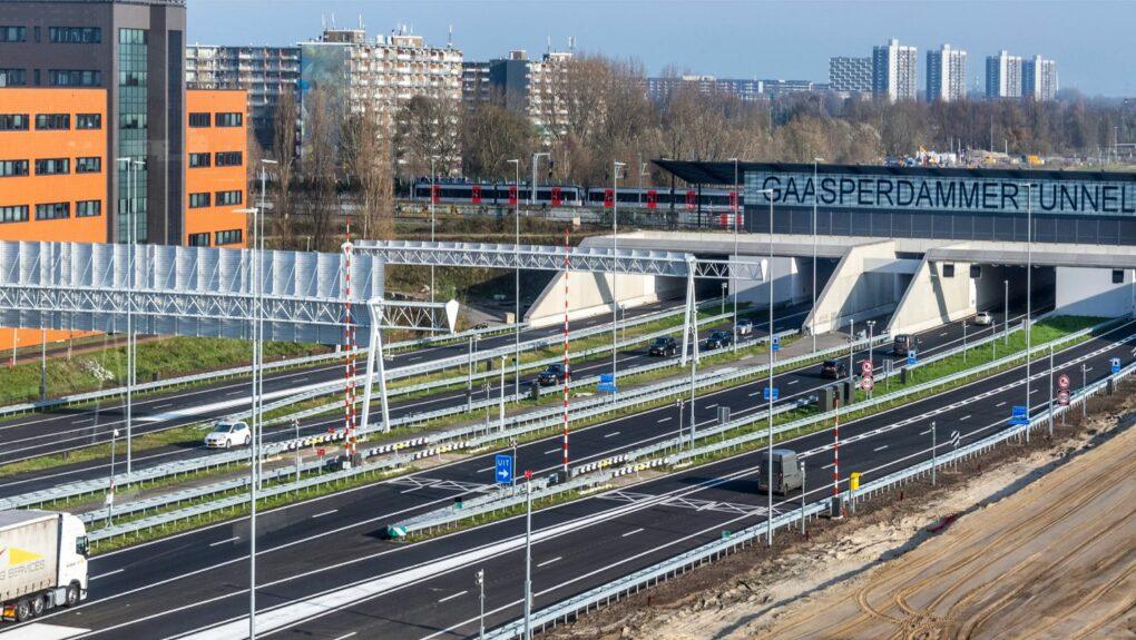 Verbreding A9 Gaasperdammerweg