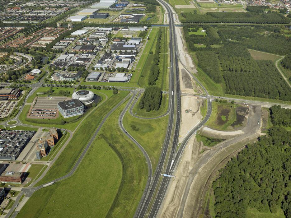 Aanpassing op- en afrit Almere Stad aan zuidkant (Waterlandseweg)