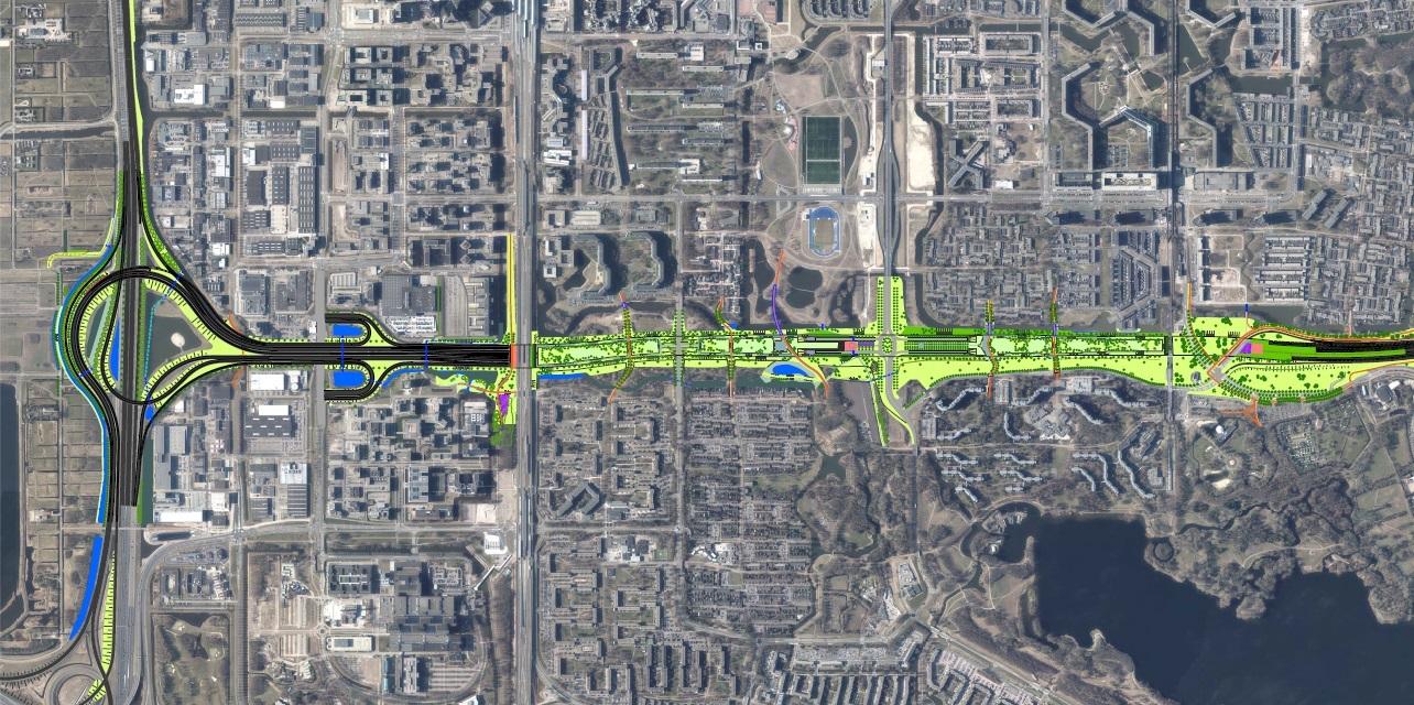 Groeninrichtingsplan A9 Gaasperdammerweg