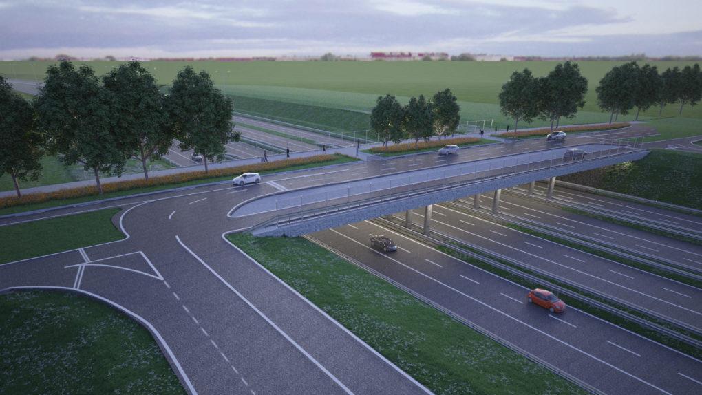 Nieuw viaduct: Steigerdreefviaduct