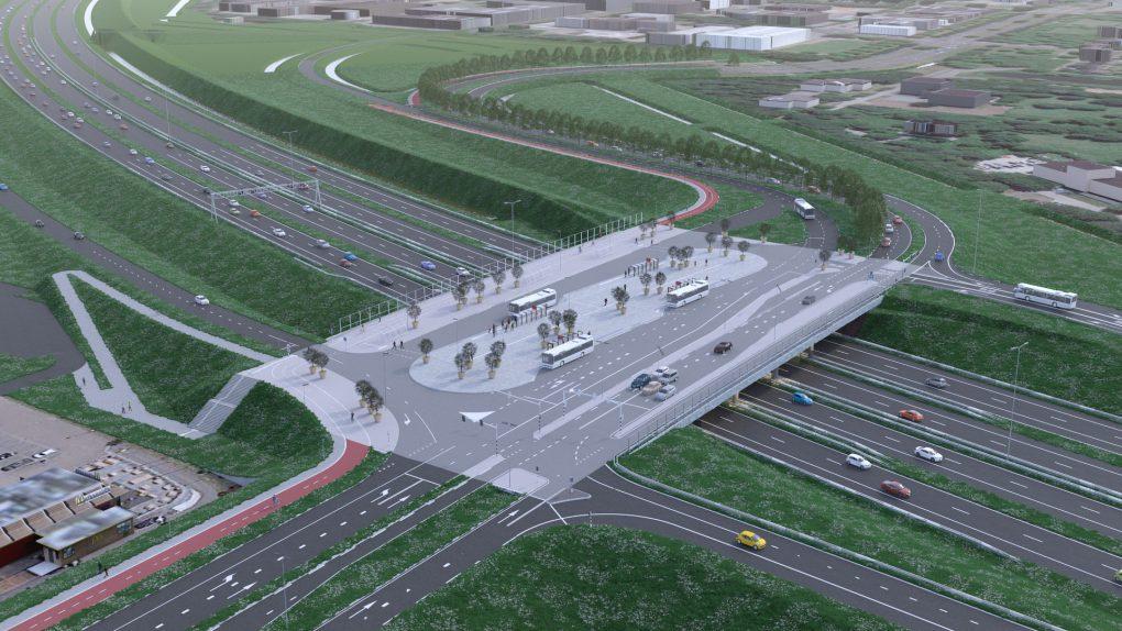 Nieuw viaduct `t Oor