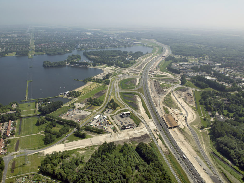 Verbreding A6 Almere Havendreef – Almere Buiten-Oost