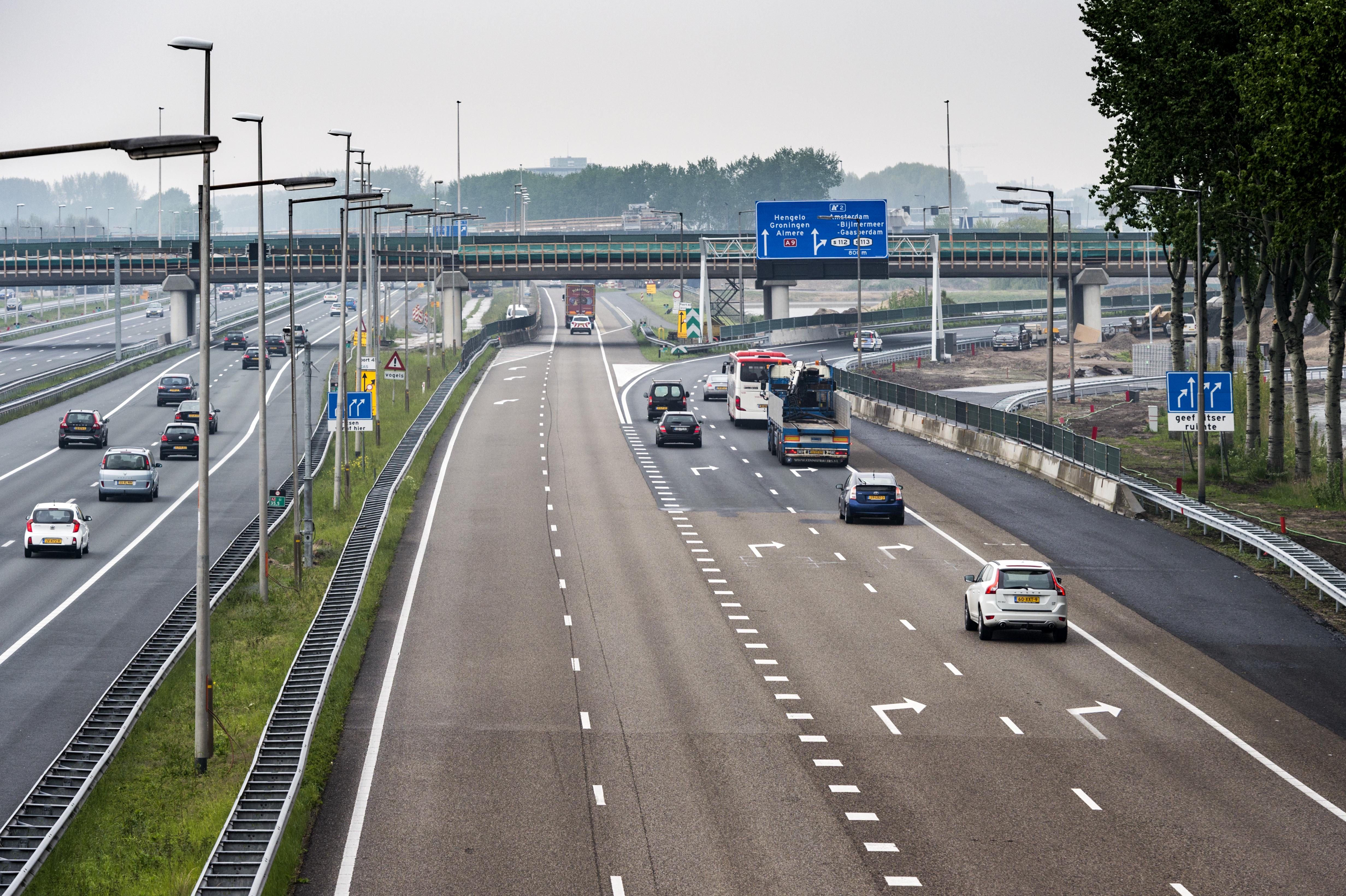 Tuin Asfalteren Kosten : 5000 ton asfalt nieuwe verbindingsweg a2 rijkswaterstaat