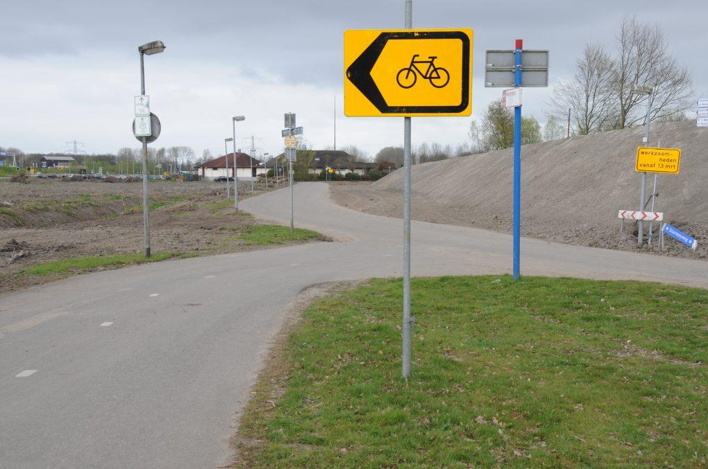 Tijdelijke aanpassing fietsroutes
