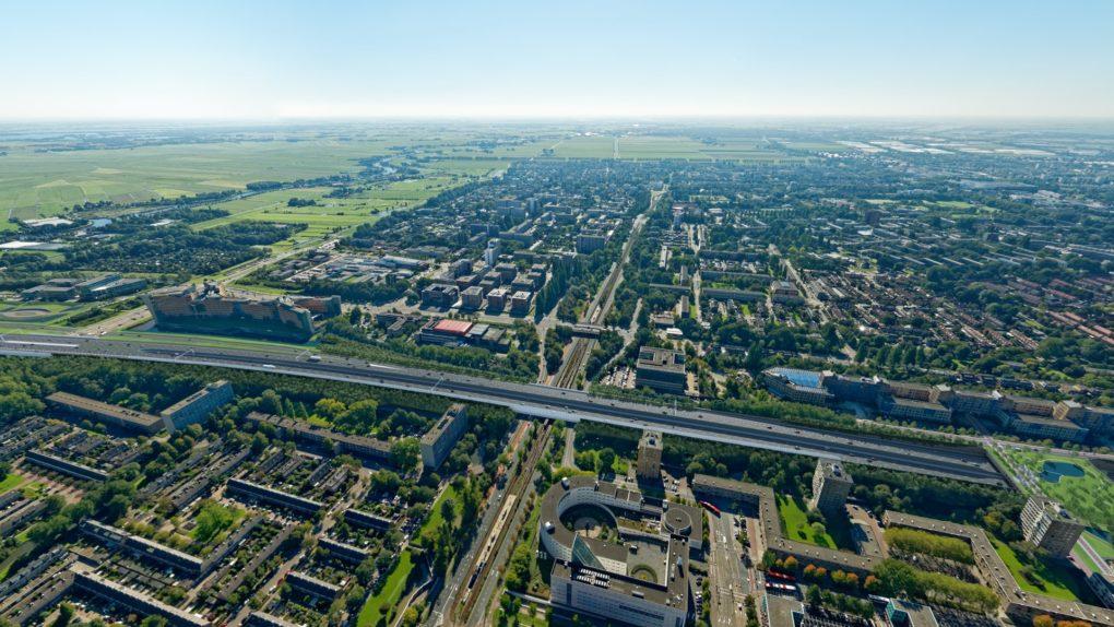 Viaducten Beneluxbaan en Burgemeester Boersweg