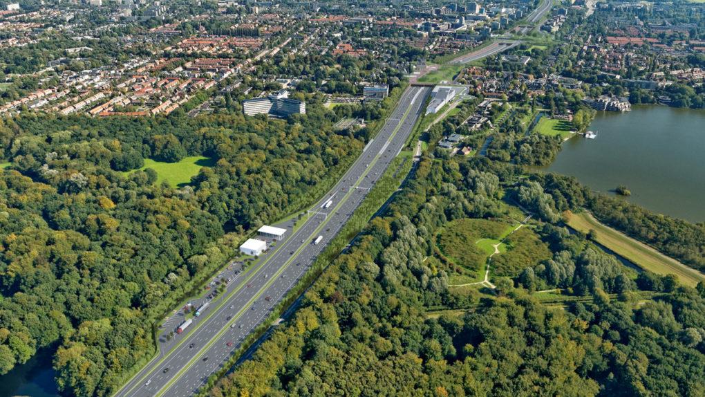 Verzorgingsplaats en tankstation Amsterdamse Bos
